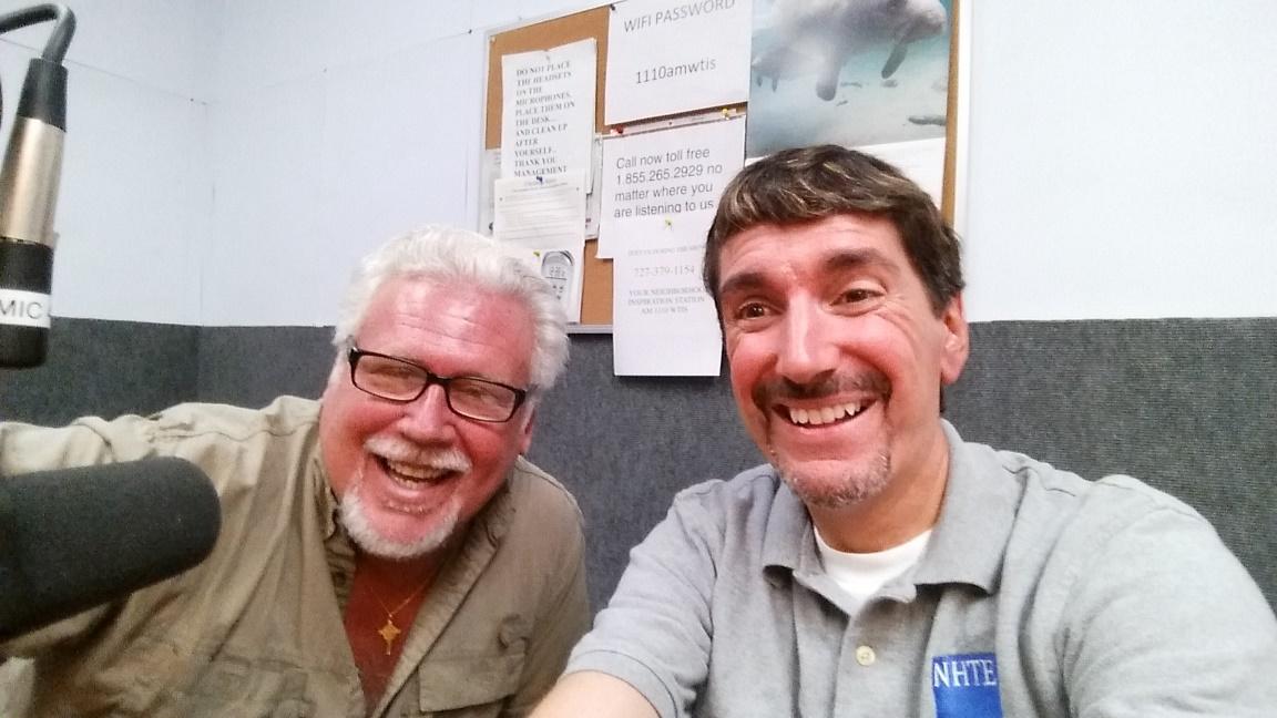 Bruce Wawrzyniak with Pete O'Shea
