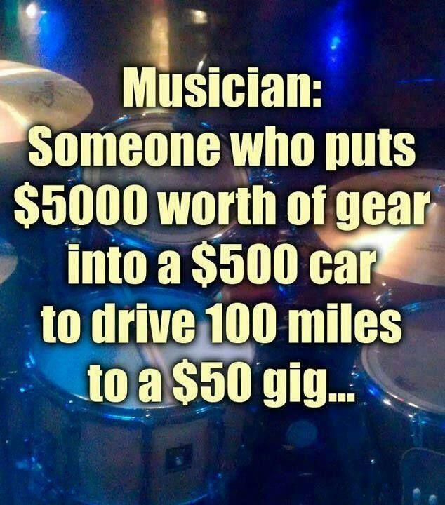 Witty musician meme