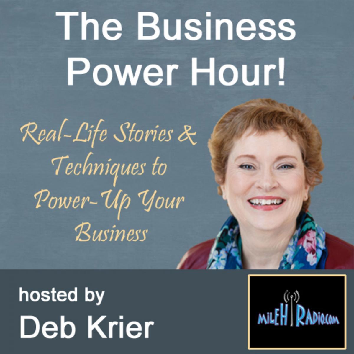 Deb Krier Business Power Hour