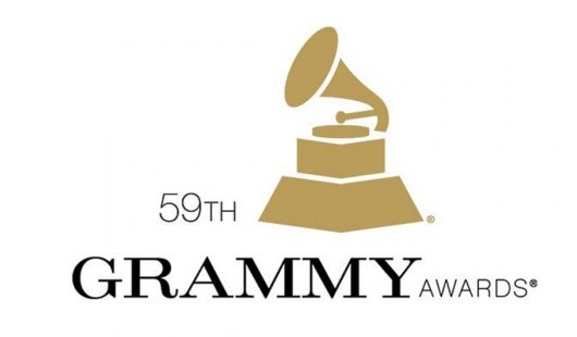 59th Grammy Awards logo