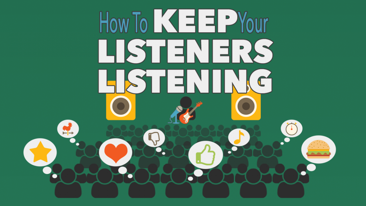 How to Keep Your Listener Listening meme