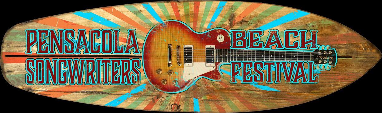 Pensacola Beach Songwriters Festival logo
