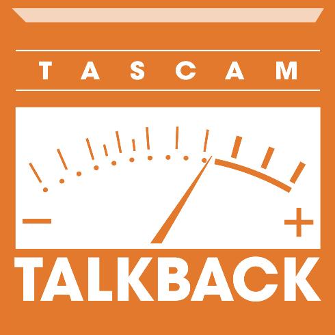 TASCAM Talkback logo