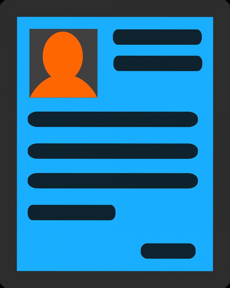 Generic resume layout