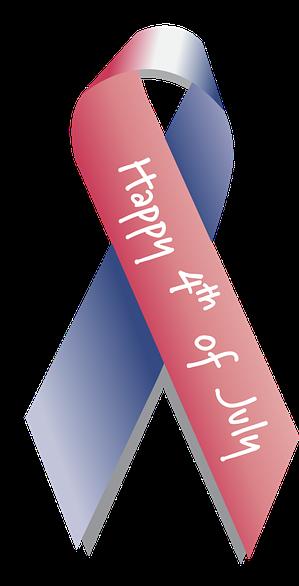 4th of July ribbon