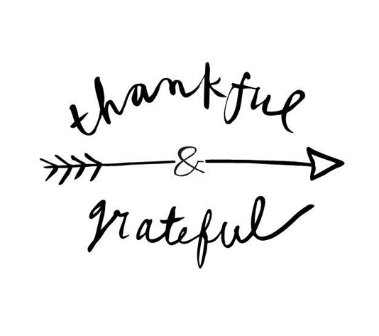 Thankful Grateful graphic
