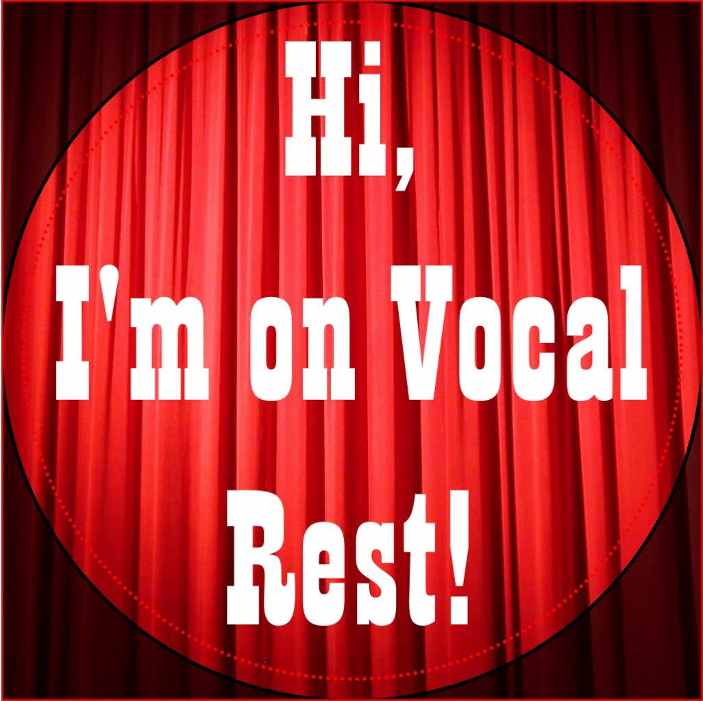 On Vocal Rest button